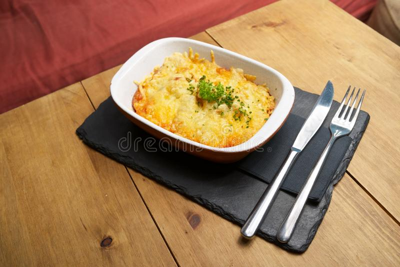 Toskana-Kartoffelansicht stockfotos