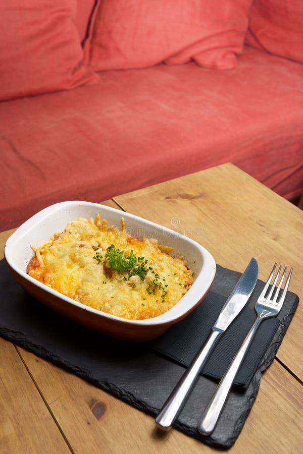 Toskana-Kartoffelansicht stockbilder