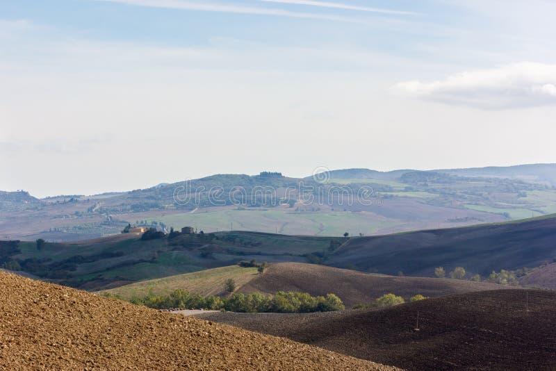 Toskana - schöne Landschaft stockfotografie