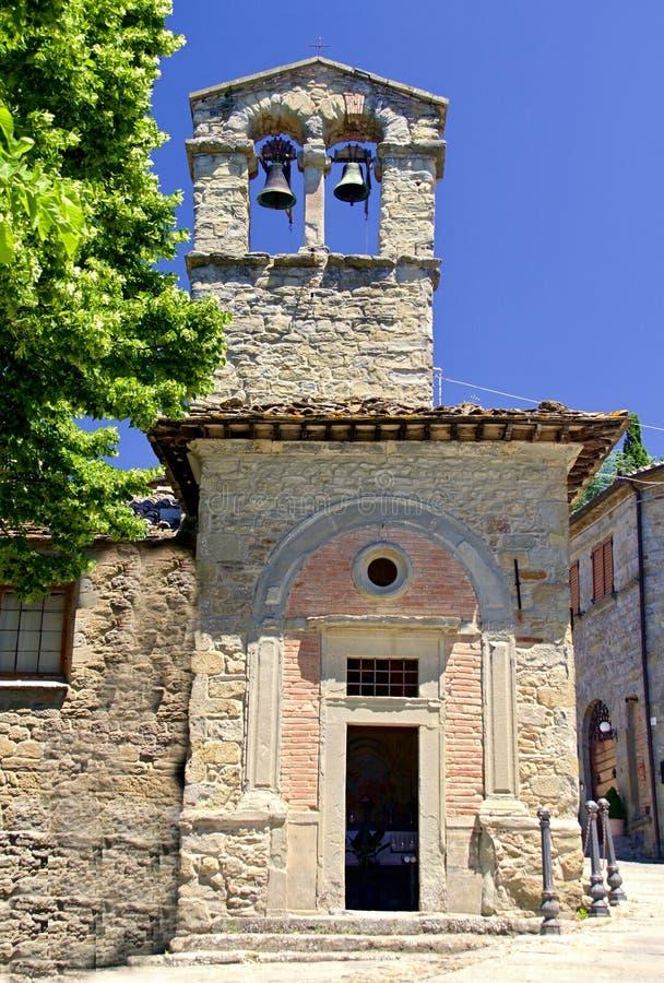 Toskana-Stadt lizenzfreies stockbild