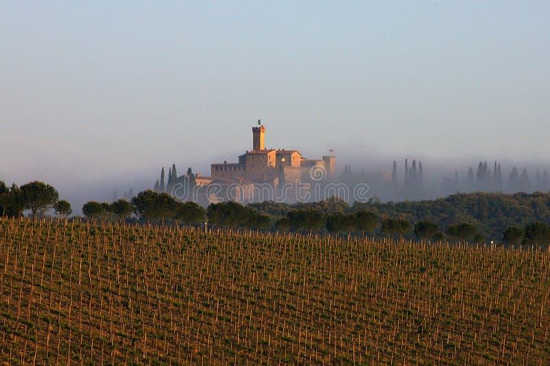 Toskania krajobrazu obraz royalty free