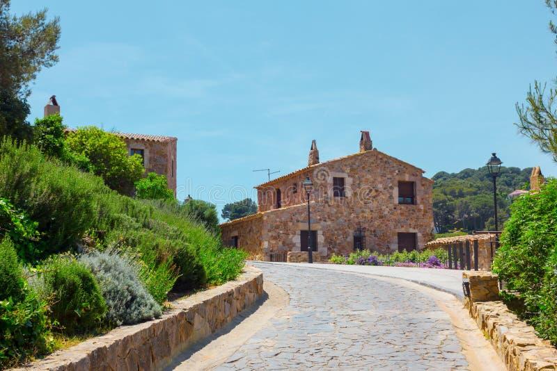Tossa de mar, Каталония стоковое фото rf