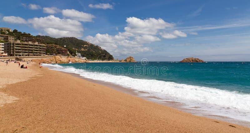 Tossa de Mar, Spain royalty free stock photos