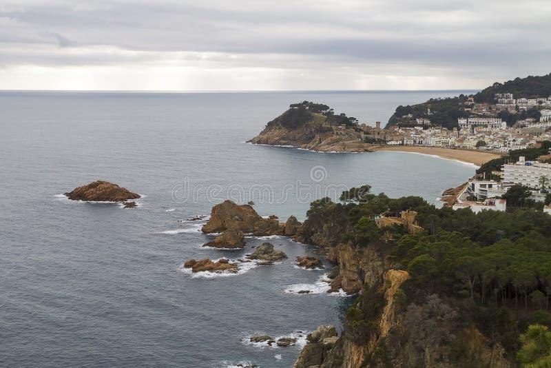 Tossa de Mar, Spain stock photos