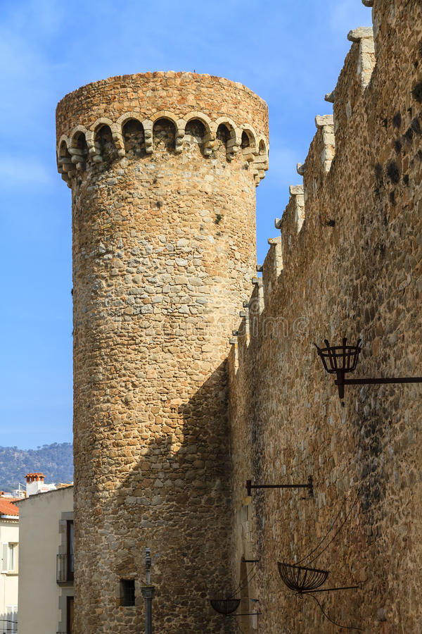 Tossa de Mar, Spain royalty free stock images