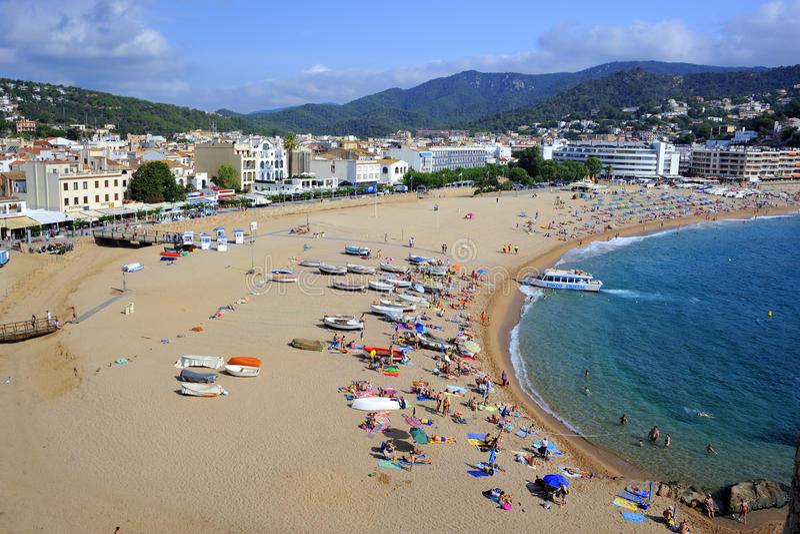 Download Tossa De Mar, Spain editorial photo. Image of view, enjoy - 83718396