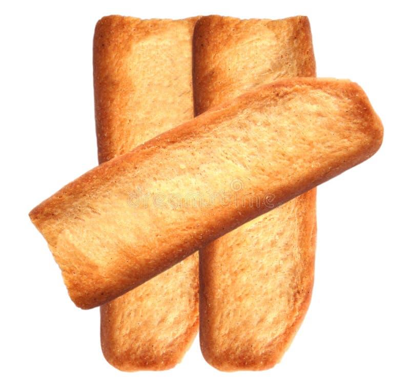 Tost Biskuit stockbild