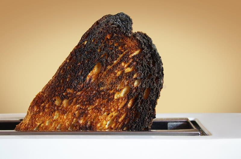 Tostada quemada imagenes de archivo