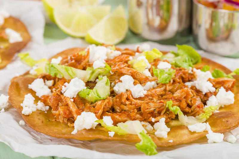 Tostadas photo stock