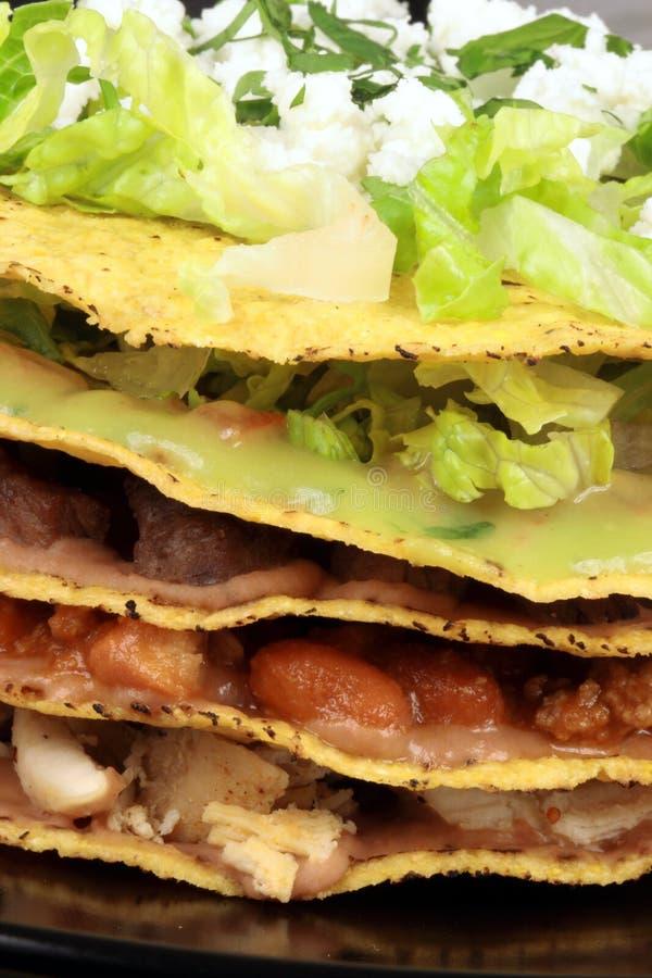 Tostadas mexicanos fotografia de stock