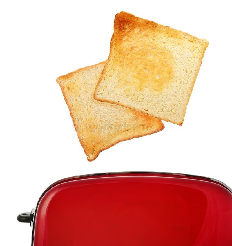 Tostadora con pan imagen de archivo