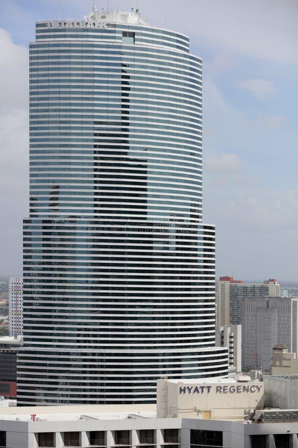 Total Bank Downtown Miami stock photo