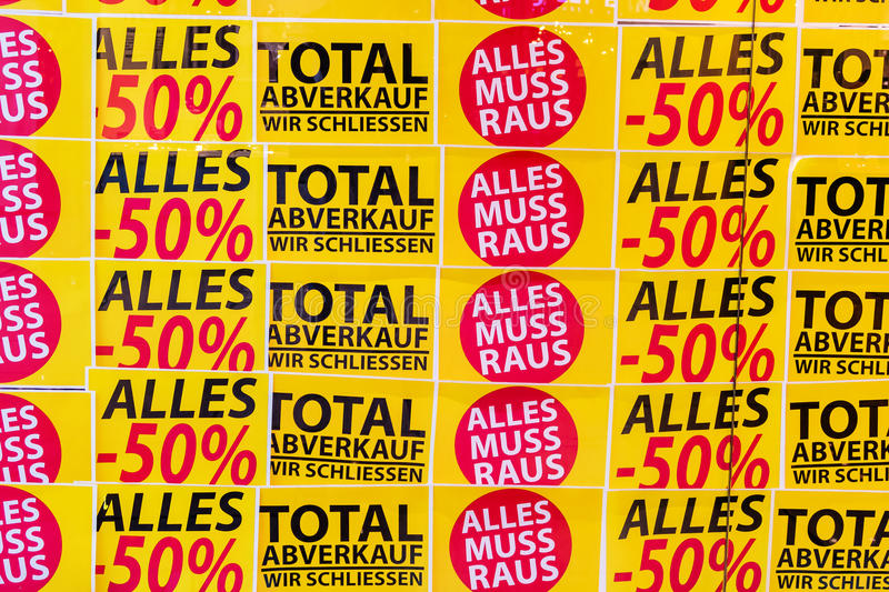 Total des ventes illustration de vecteur