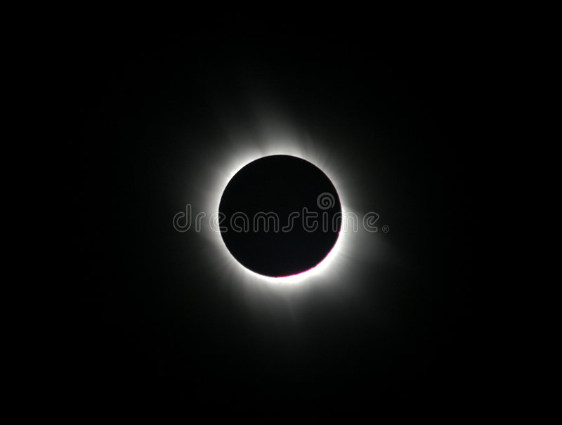 Total Solar Eclipse royalty free stock photos