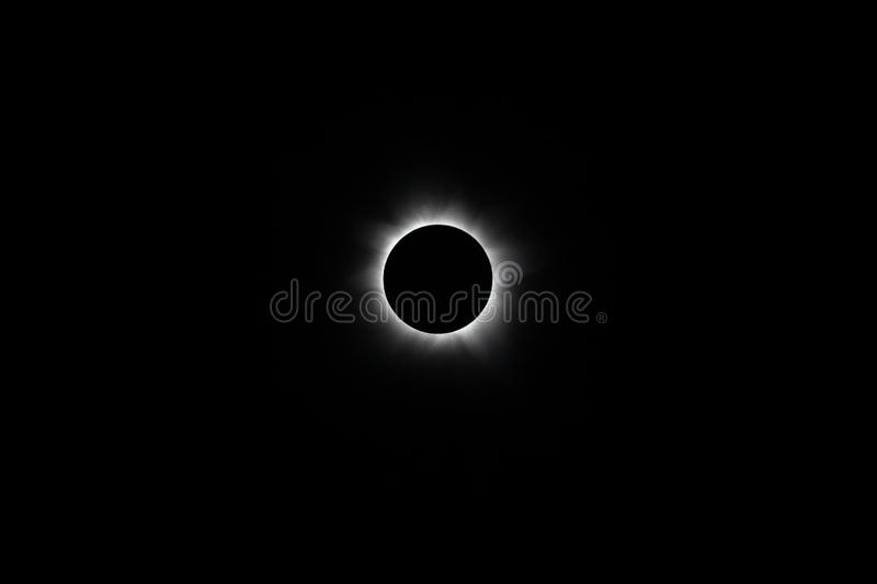 Total Solar Eclipse stock image
