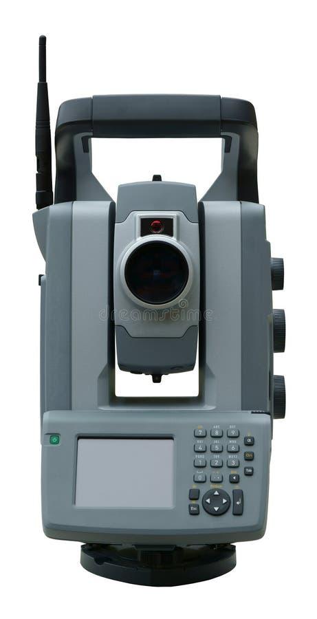 Download Total station stock image. Image of surveying, theodolite - 25190817