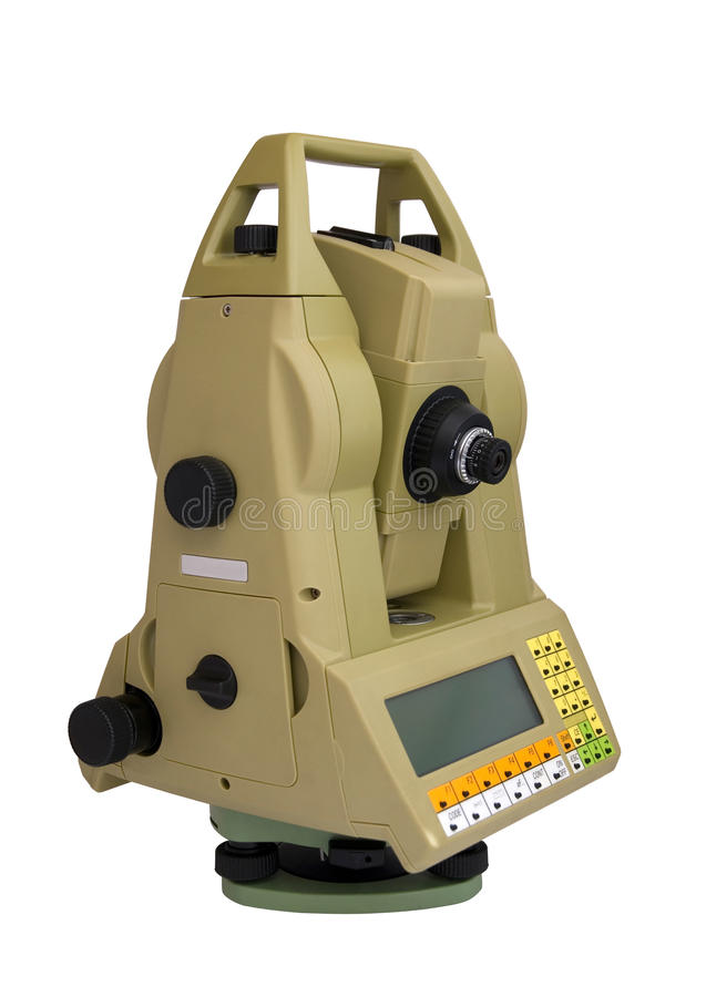 Download Total Station stock image. Image of distance, alignment - 25194623