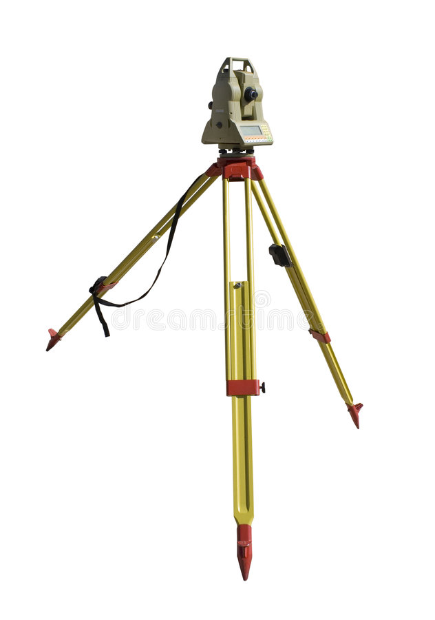 Download Total station stock photo. Image of exact, distance, sight - 4562636