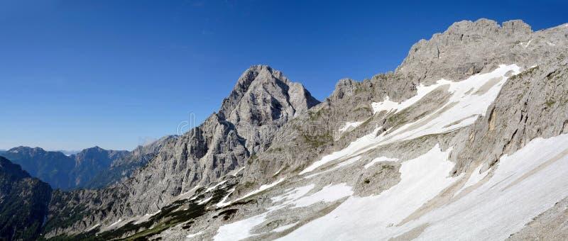 Totalisators Gebirge, Oberosterreich, Oostenrijk royalty-vrije stock afbeelding