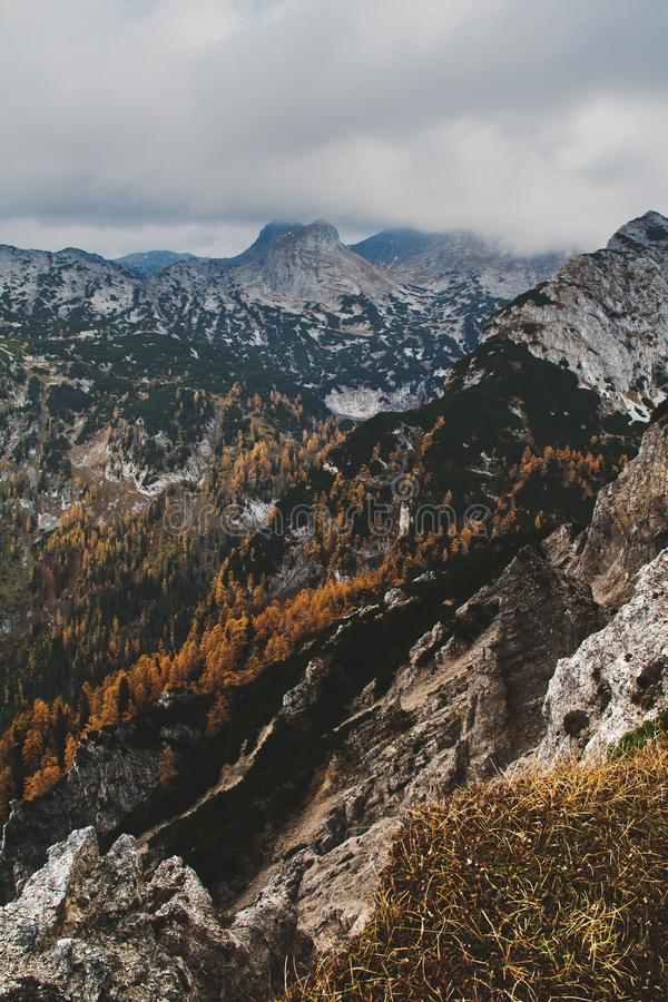 Totalizzatori Gebirge fotografie stock libere da diritti