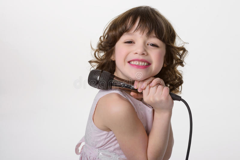 Totally happy child with nice smile stock images