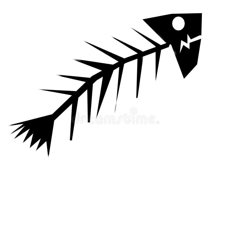 Download Tote Fische stock abbildung. Illustration von wüste, draw - 31714