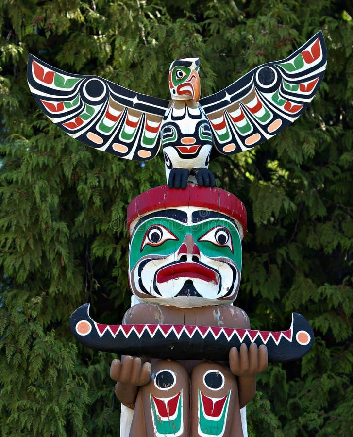 totem полюса стоковая фотография rf