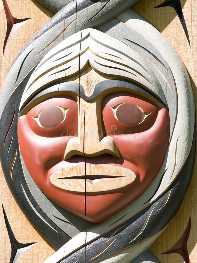 totem полюса стоковое изображение