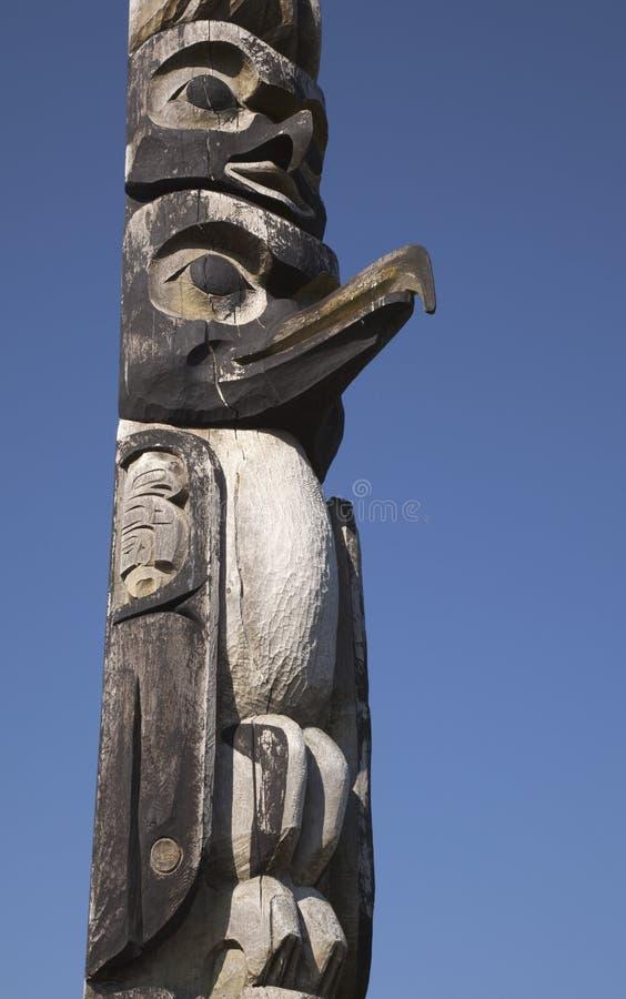totem птицы стоковое изображение rf