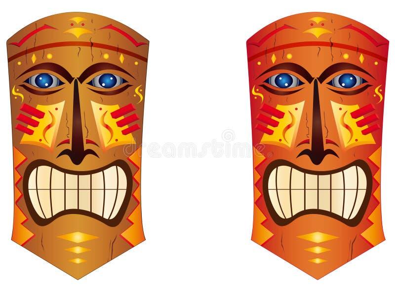 Totem ilustração royalty free