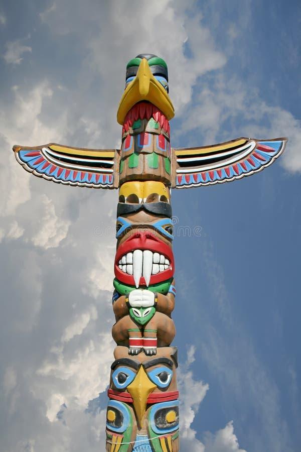 Totem nel cielo immagine stock libera da diritti