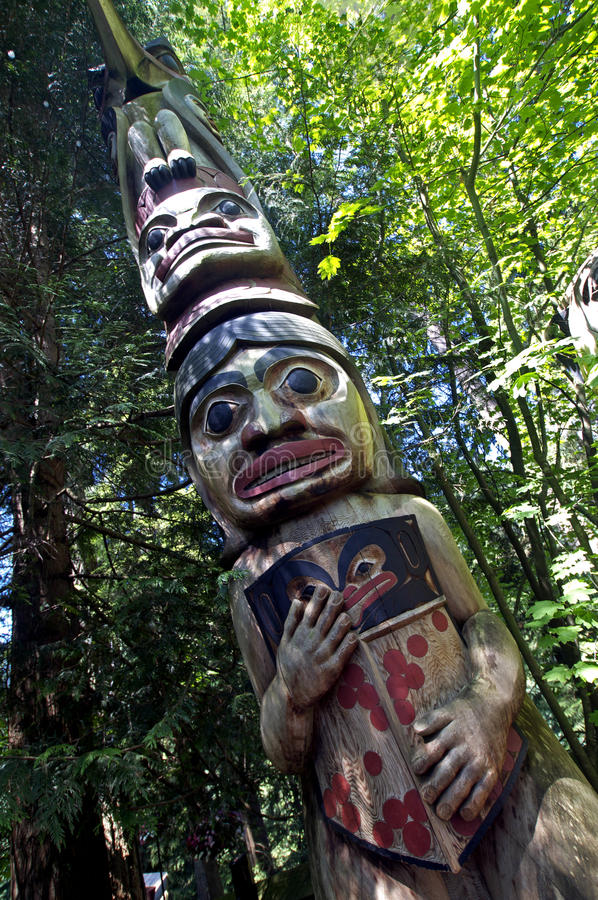 Free Totem Pole Stock Images - 12619574