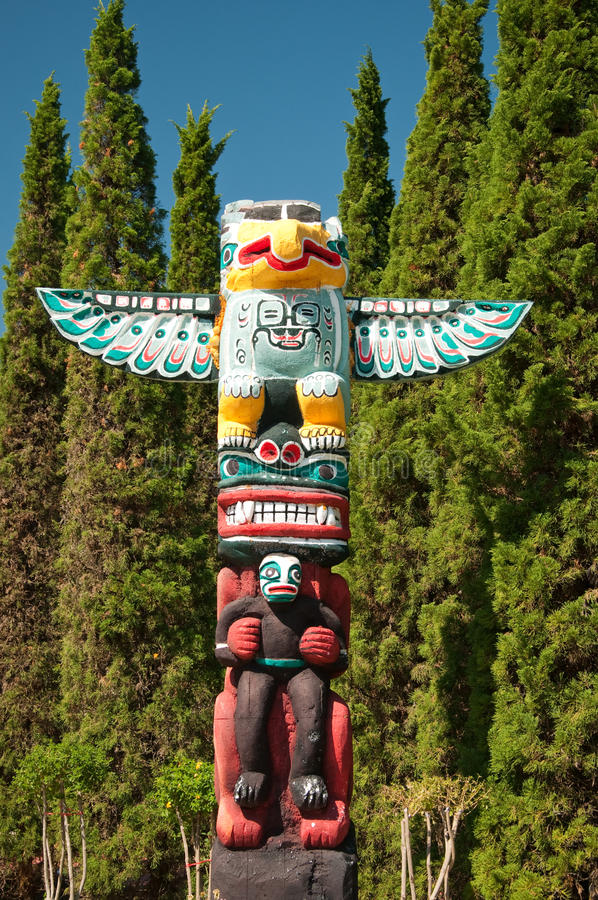 Download The Totem Pole stock image. Image of sign, nations, creativity - 23603475