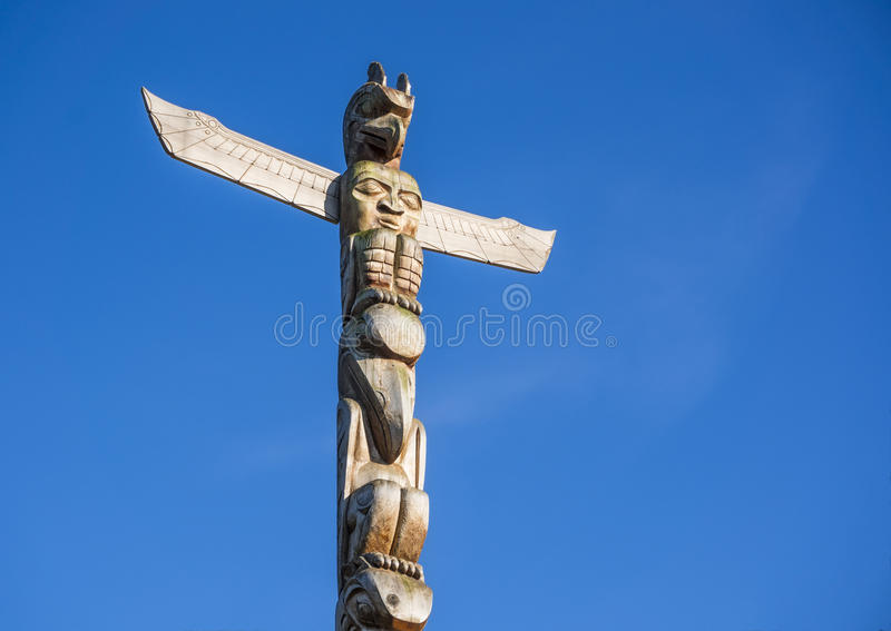 Download Totem Pole stock image. Image of light, canadian, aboriginal - 27582393