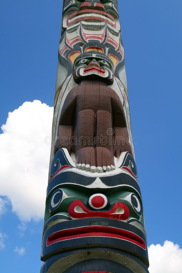 Download Totem pole stock image. Image of canada, country, indian - 5527735