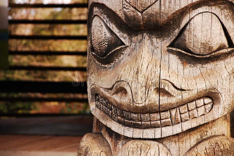 Download Totem Pole Stock Image - Image: 8487081