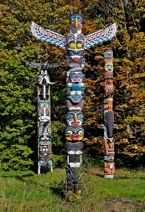 totems images stock
