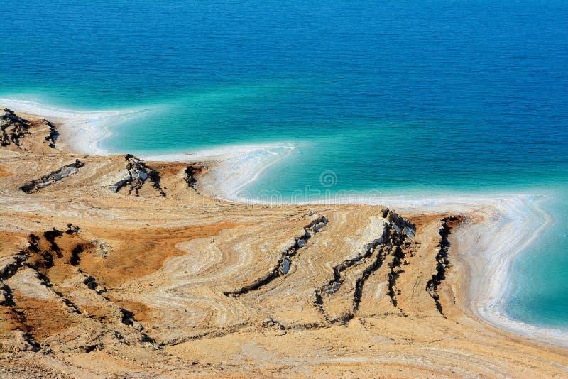 Totes Meer, Jordanien lizenzfreies stockbild