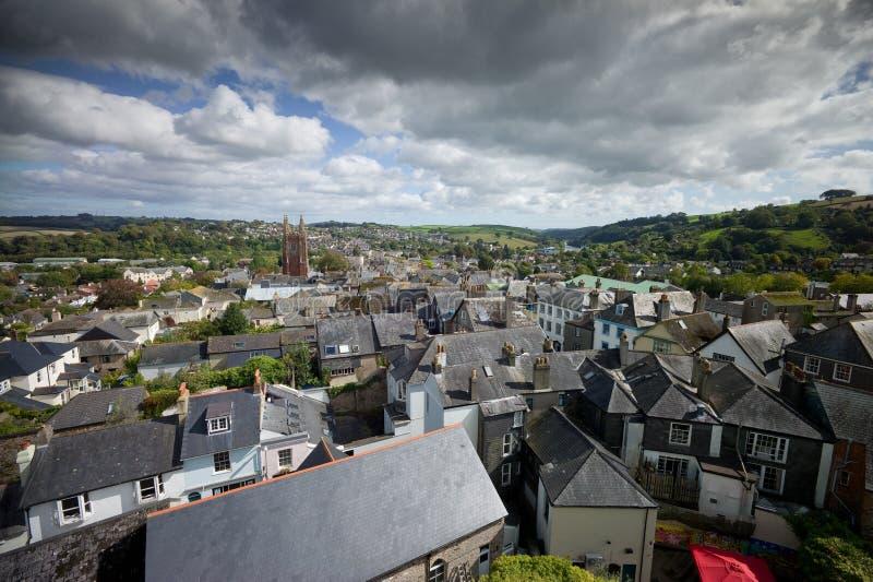 Totnes widok, Devon obrazy stock