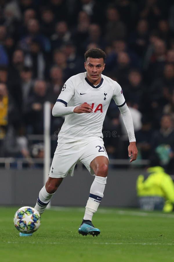 Tottenham Hotspur κατά Ερυθρού Αστέρα Βελιγραδίου - UEFA Champions League Group B Tottenham Hotspur Stadium, Λονδίνο, Αγγλία στοκ εικόνες