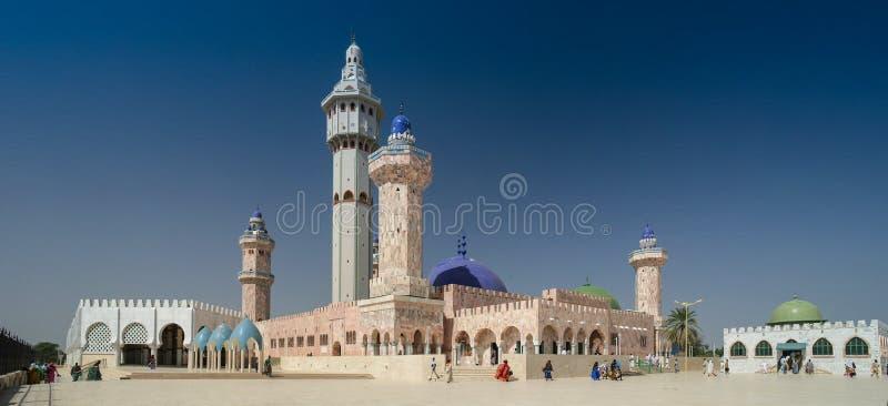 Touba moské, mitt av Mouridism, Senegal arkivfoto