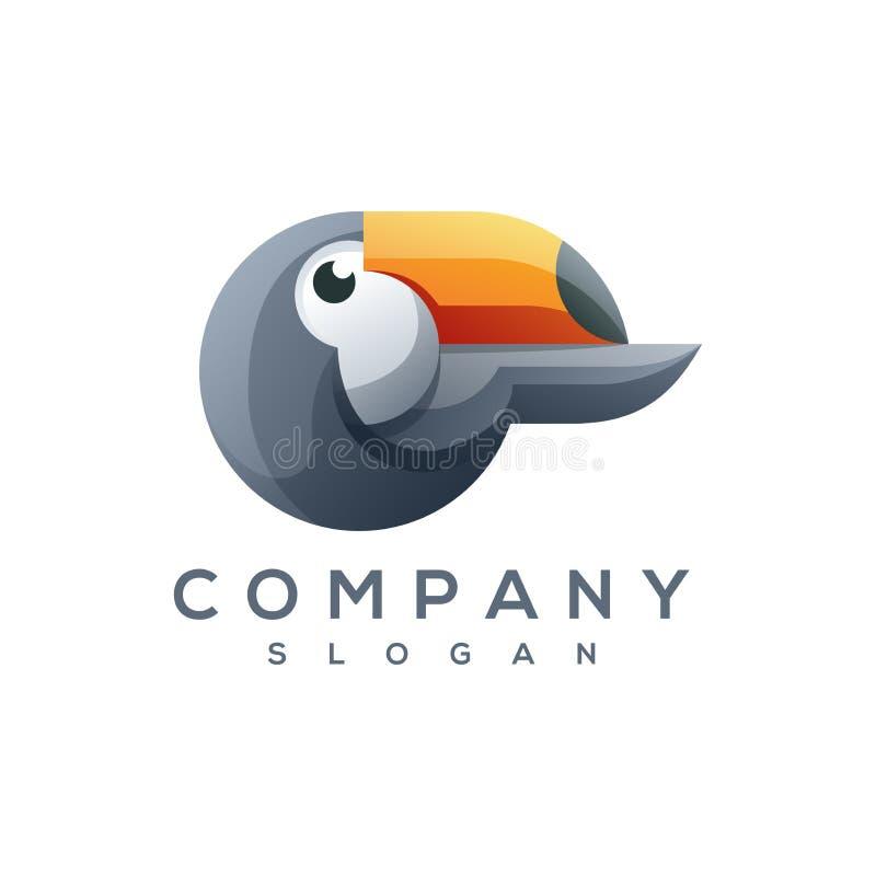 Toucan商标传染媒介 皇族释放例证