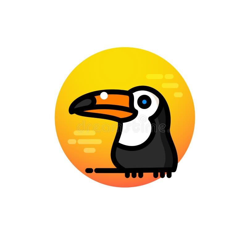 Toucan鸟传染媒介例证 皇族释放例证