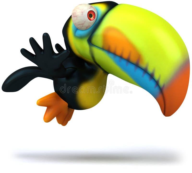 toucan 向量例证