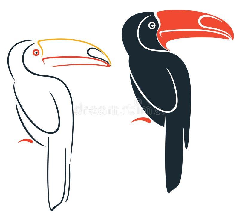 Toucan ελεύθερη απεικόνιση δικαιώματος