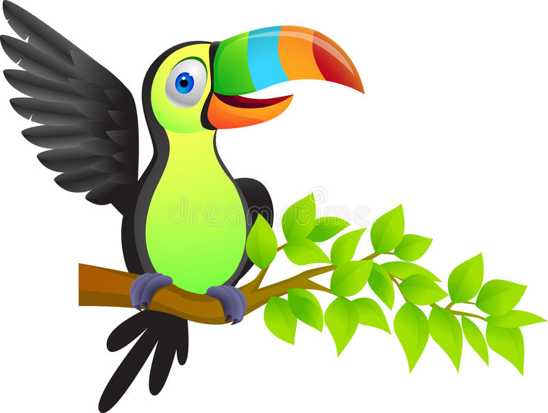 Download Toucan bird stock vector. Image of smile, comic, tocan - 21133297