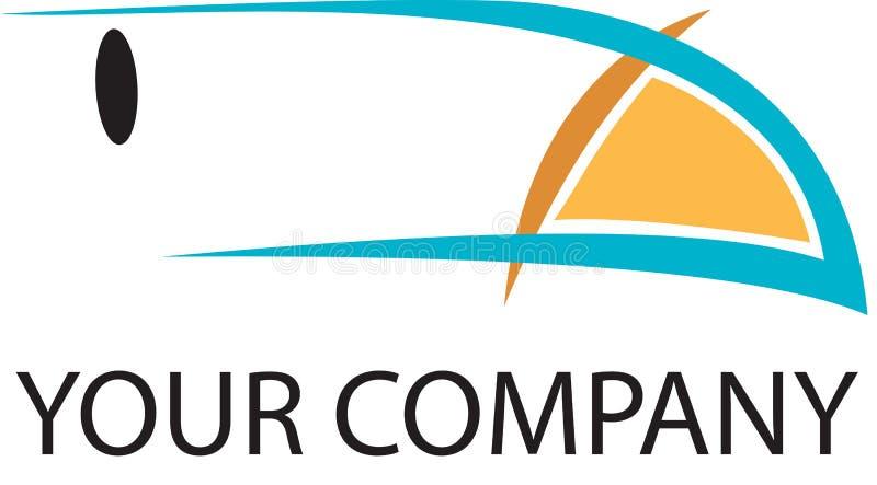 Toucan Zeichen lizenzfreie abbildung