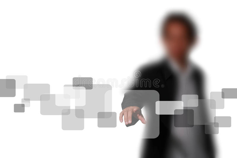Touch on royalty free stock photo