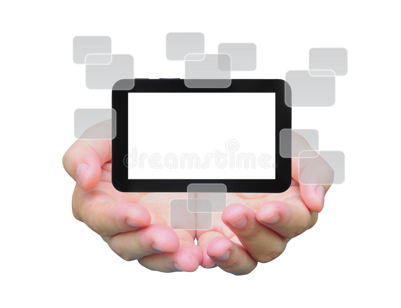 Touch Pad Stock Photo
