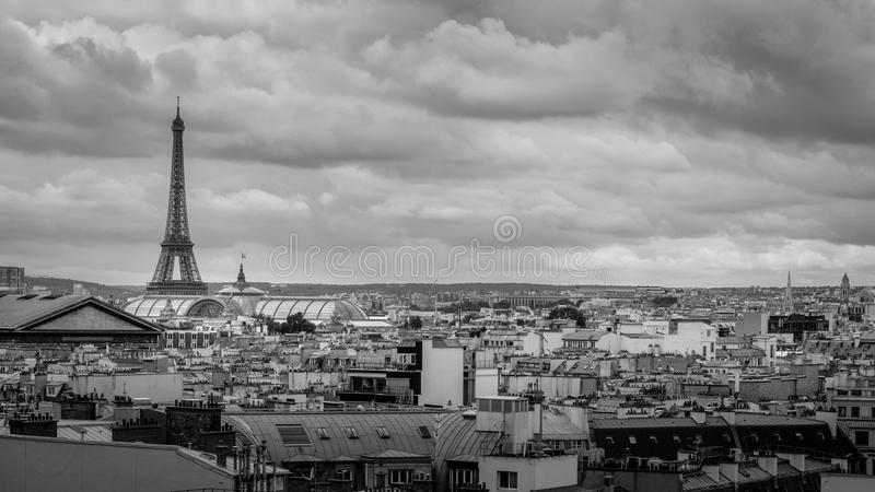 A touch of Paris stock photography